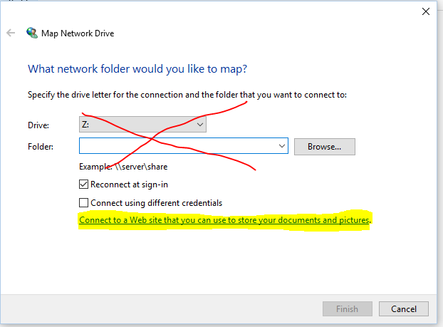 Map A Drive (Folder) To Office 365
